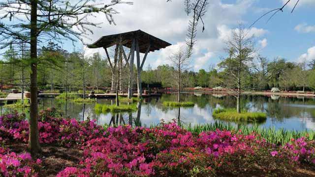 Shangri La Botanical Gardens Nature Center In Orange Tour Texas